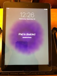 iPad Air 1st Gen. 9.7in - Space Gray (FOR PARTS OR REPAIR) - $1 Woodbridge, 22192