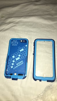 Blue life proof case ( iPhone 6s charging case and water proof ) Chesterfield, 63017