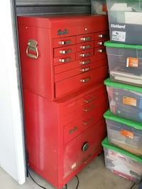 red tool chest
