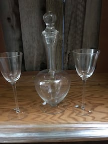 Crystal Glass and decanter