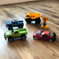 Kids Toys- Trucks and Car (4 toys for 1 price!) Ashburn, 20147