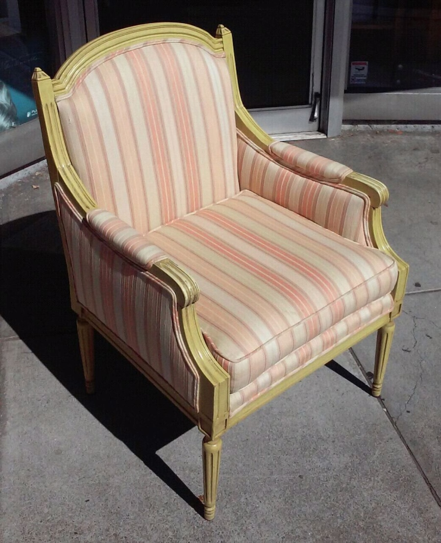 #18057 French Country Armchair