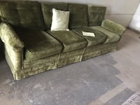 Price negotiable, retro sofa in great condition. This item is located in Mississauga  Innisfil, L9S