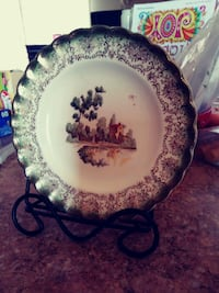 Plate w/stand Las Cruces, 88001