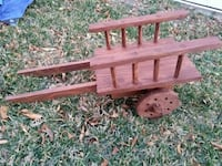 brown wooden wagon