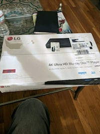 LG 4k Ultra HD Blu-ray Disc Player *New unopened Mansfield, 02048