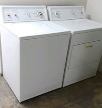 white washer and dryer set Bakersfield, 93306