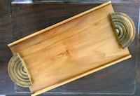 MCM 1960's Wooden Serving Tray Patio Cottage  Kitchener, N2M 1X3