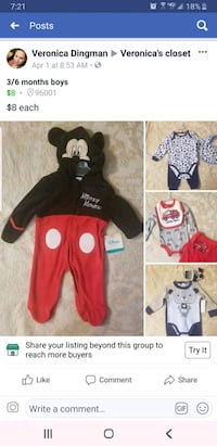 3/6 months boys clothes Redding, 96003