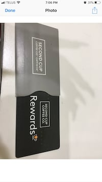 Second cup gift card Edmonton, T5G 2S4
