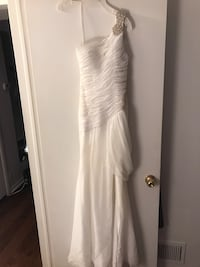 Prom/Pageant Gown with Train (Size 2)