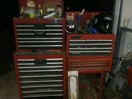 Tools, boxes, compressors, power tools, welders