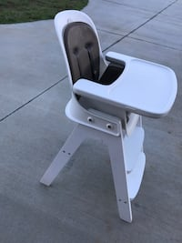 white and grey high chair Greenville, 29607