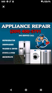 appliance repair tech Lodi
