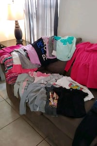 Girls clothes sizes 5-7