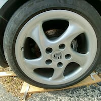 Porsche  [TL_HIDDEN]  OEM Rear Wheel new Restored 10x18 Toronto, M1R 5G9