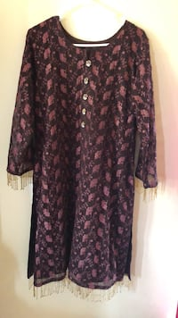 pakistani indian 3 piece Dress  new never used size large  Dumfries, 22026