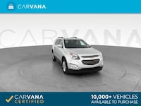 2017 Chevy Chevrolet Equinox suv LT Sport Utility 4D Silver Brentwood