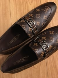Louis Vuitton Men's Dress Shoe-Brown Leather Size 9-Real! Lower Price! Toronto, M3H 5W9
