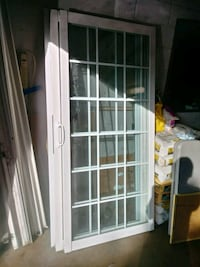 white wooden framed glass door Hyattsville, 20784