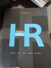 Managing Human Resources 8th Canadian edition  Pickering, L1V 5A2