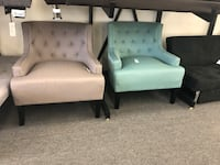 Accent Chairs ($199 each) New Brand Homelegance Color available: Teal, Chocolate, Navy Blue, Ligth Gray Houston, 77092