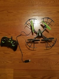 black and green drone with remote control Martinsburg