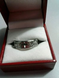Sterling silver ring with box Moncton, E1C 6B4