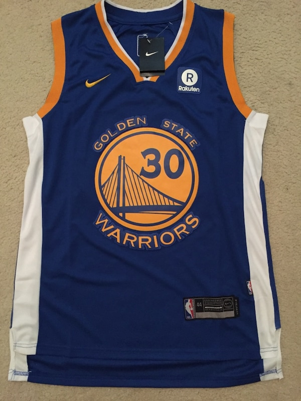 best sneakers 2e8ac 56e37 Nike Stephen Curry Jersey Size Small