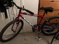 Red and black hard tail mountain bike New York, 10474