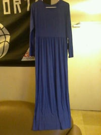 blue long-sleeved dress Brampton, L6Y 4E8