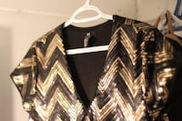 black and white chevron cardigan Longueuil, J4T 1R3