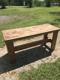 Bench. Stained Wood. Have two to sale. Augusta, 30909