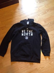 Addidas We The North black hoodie size 14/16 Large