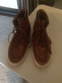 Ralph Lauren Polo  Brown Leather Boot Men's Size 10 Euless, 76039