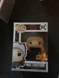 Max with costume stranger thing funko pop Lancaster, 17603