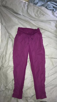 Purple lululemon studio pants