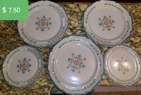 white and blue floral ceramic dinnerware set Woodbridge, 22191