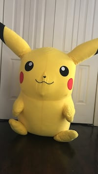 Giant pikachu plush toy