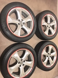245/50/r20 Toyota Venza original rims and tires  London, N6E 2K2
