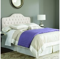 white and purple bed comforter Arlington, 22203