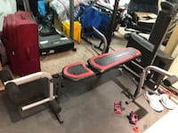 black and red exercise equipment Brampton, L6S 5J8