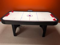white and black air hockey table Washington, 20024