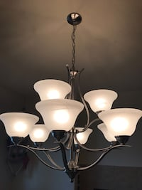 Beautiful 9 Light Chandelier Reduced Sale Price Commerce City, 80022