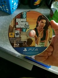 Grand Theft Auto Five PS4 game disc Mount Clare, 26408