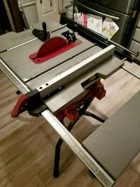 15 Amp Table Saw with Diablo Blade 51 mi