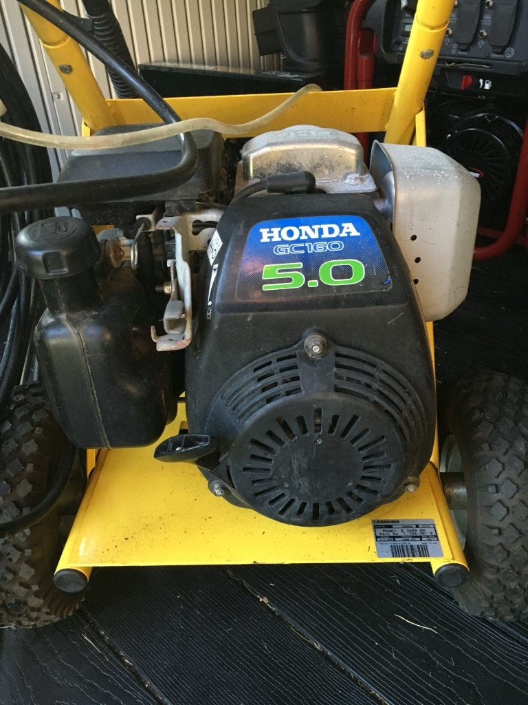 Black Honda Gc160 5.0 Pressure Washer