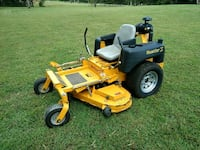 Used Yellow Hustler Z Riding Zero Turn Lawn Mower For Sale In Spring