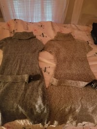 gray and tan med sweater dresss Pauls Valley, 73075