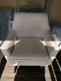 New Beige Mid Century Accent Chair Toronto